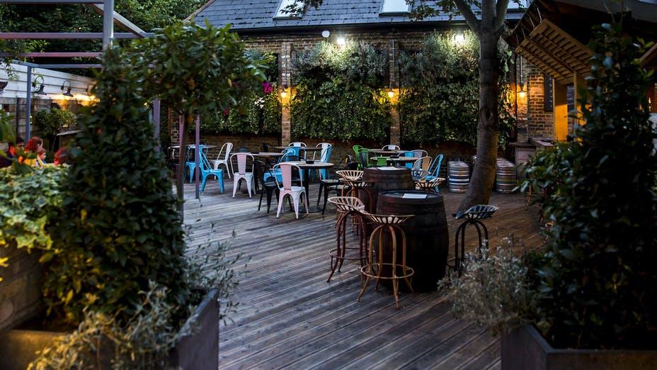 Beer Garden Near Me London