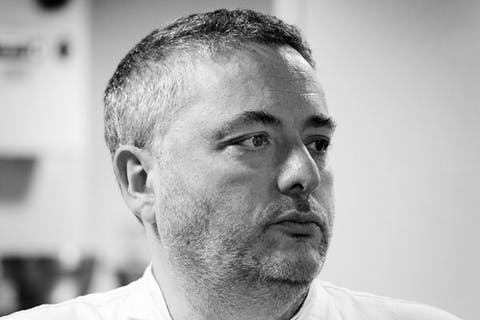 Celebrity chef Richard Corrigan