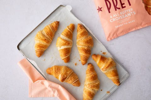 You can now buy Pret a Manger croissants in Tesco