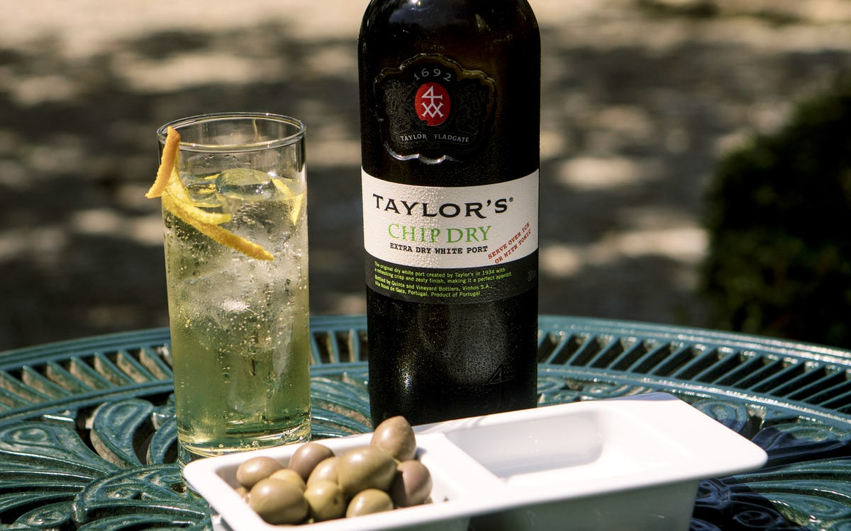 Cocktail of the Month: Taylor's Chip Dry & Tonic