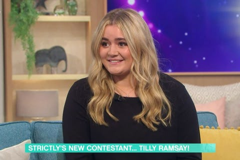 Tilly Ramsay, daughter of Gordon, announced for Strictly Come Dancing line-up