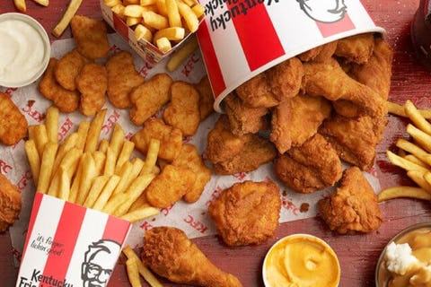 KFC in khaos! Chain issues warnings over menu shortages