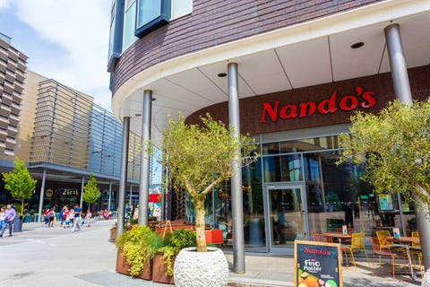 Nando's forced to close 50 restaurants due to supply issues