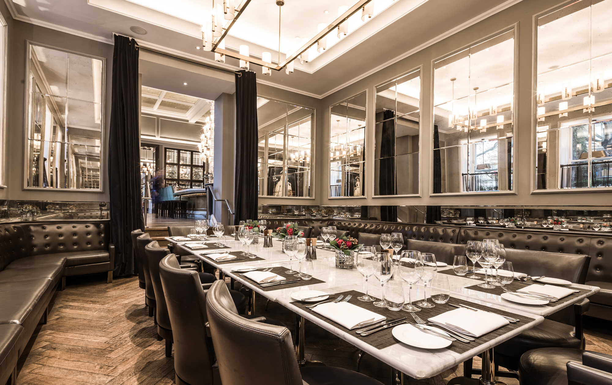 Corinthia Hotel venue hire events private dining corporate group bookings