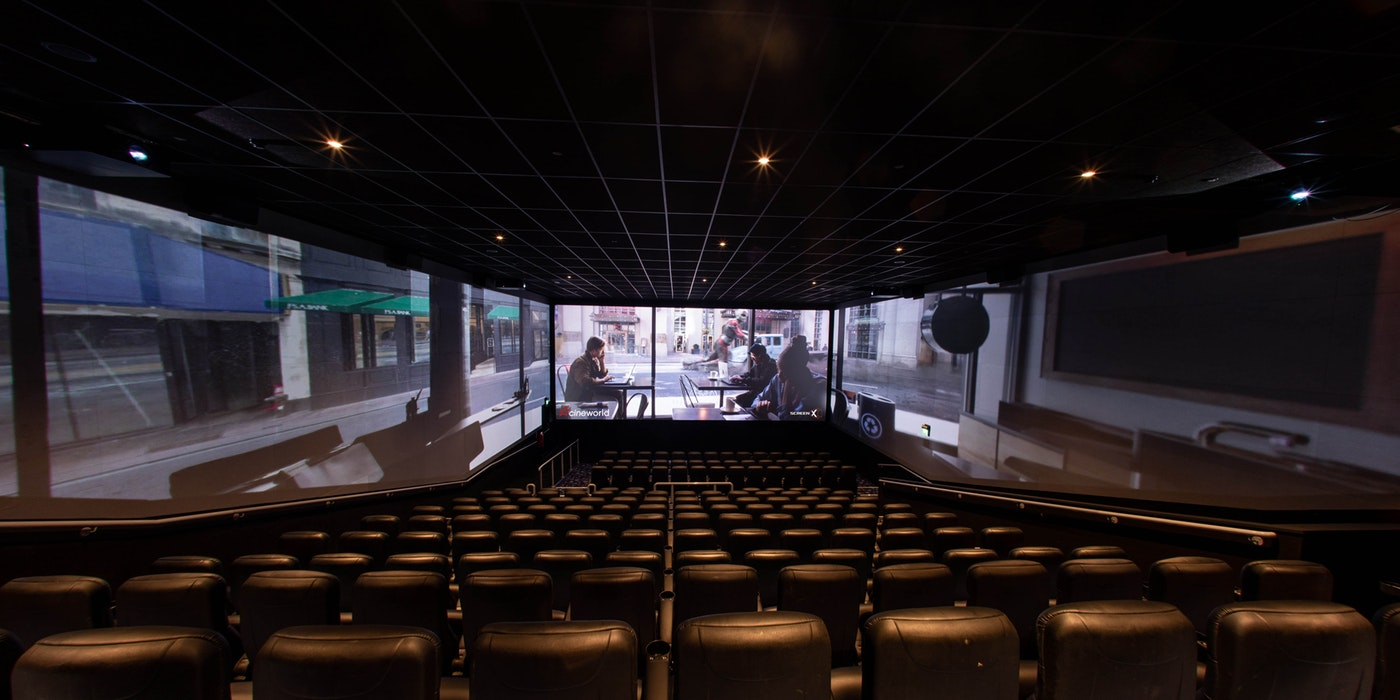 Win the chance to experience Cineworld's new and revolutionary ScreenX