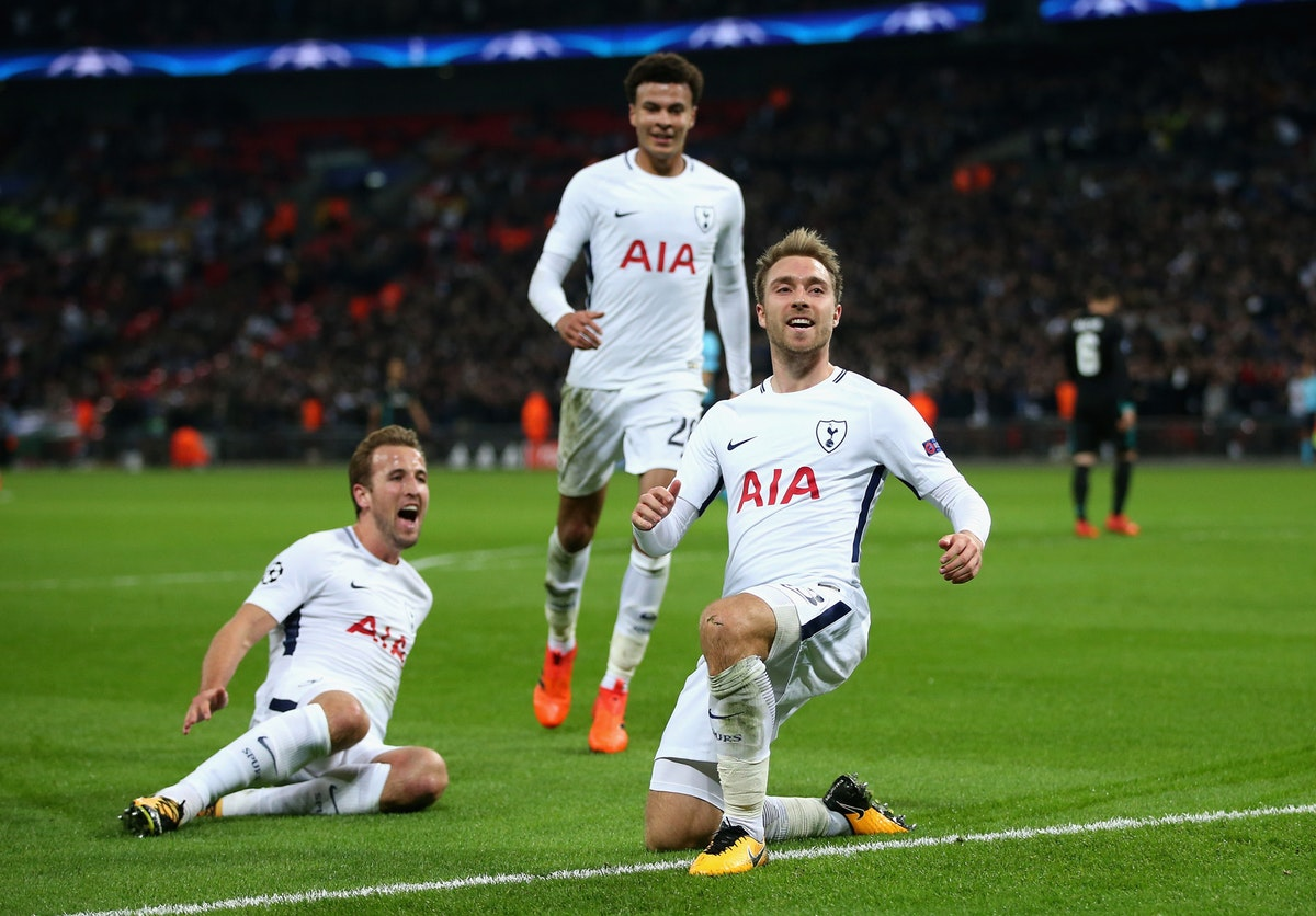 Win two places in an Executive Box at a Spurs' Champions League game