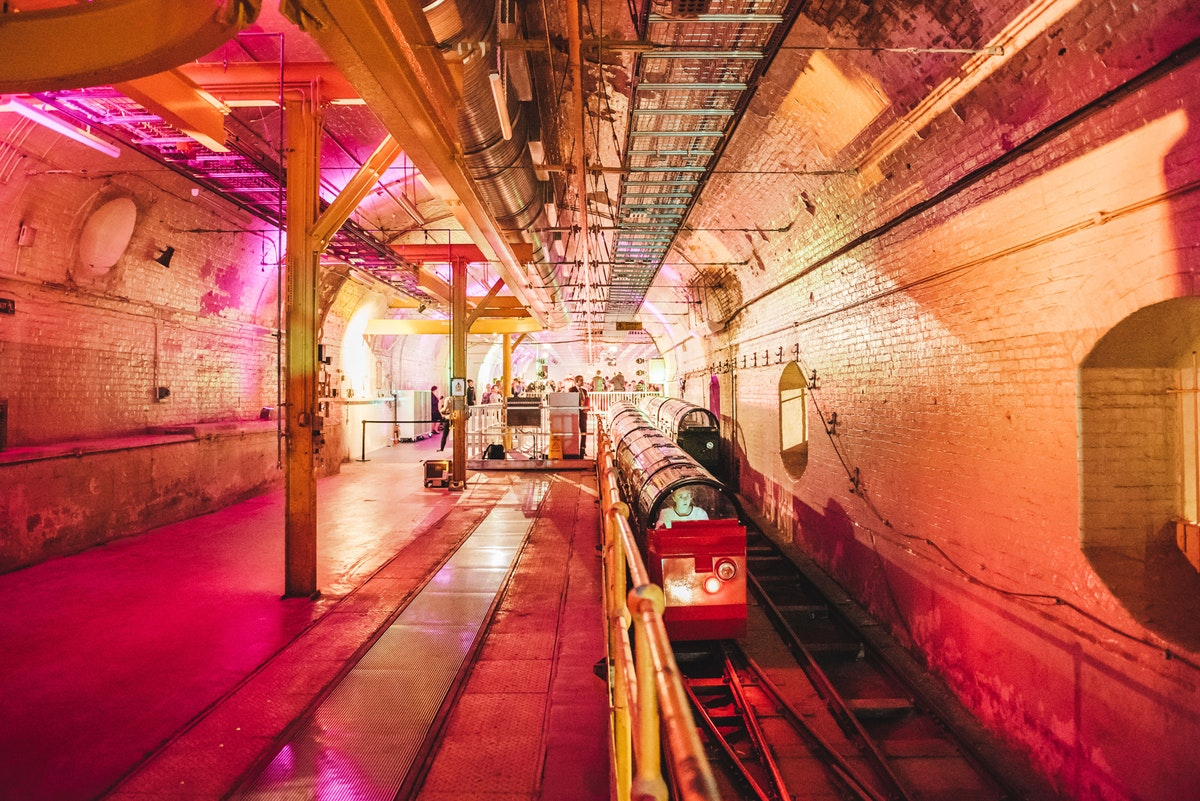 Event review: The Mail Rail Depot Launch, The Postal Museum