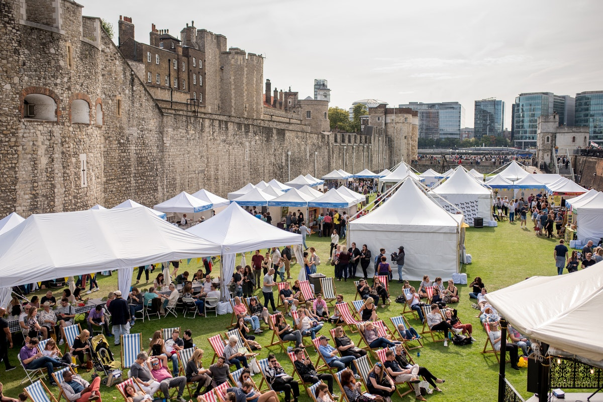Event review: BBC Good Food Show Feast, Tower of London moat