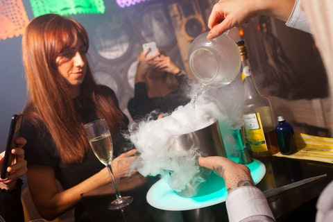Want edible bubbles, inhalable cocktails and a sherbet wall at your next event?