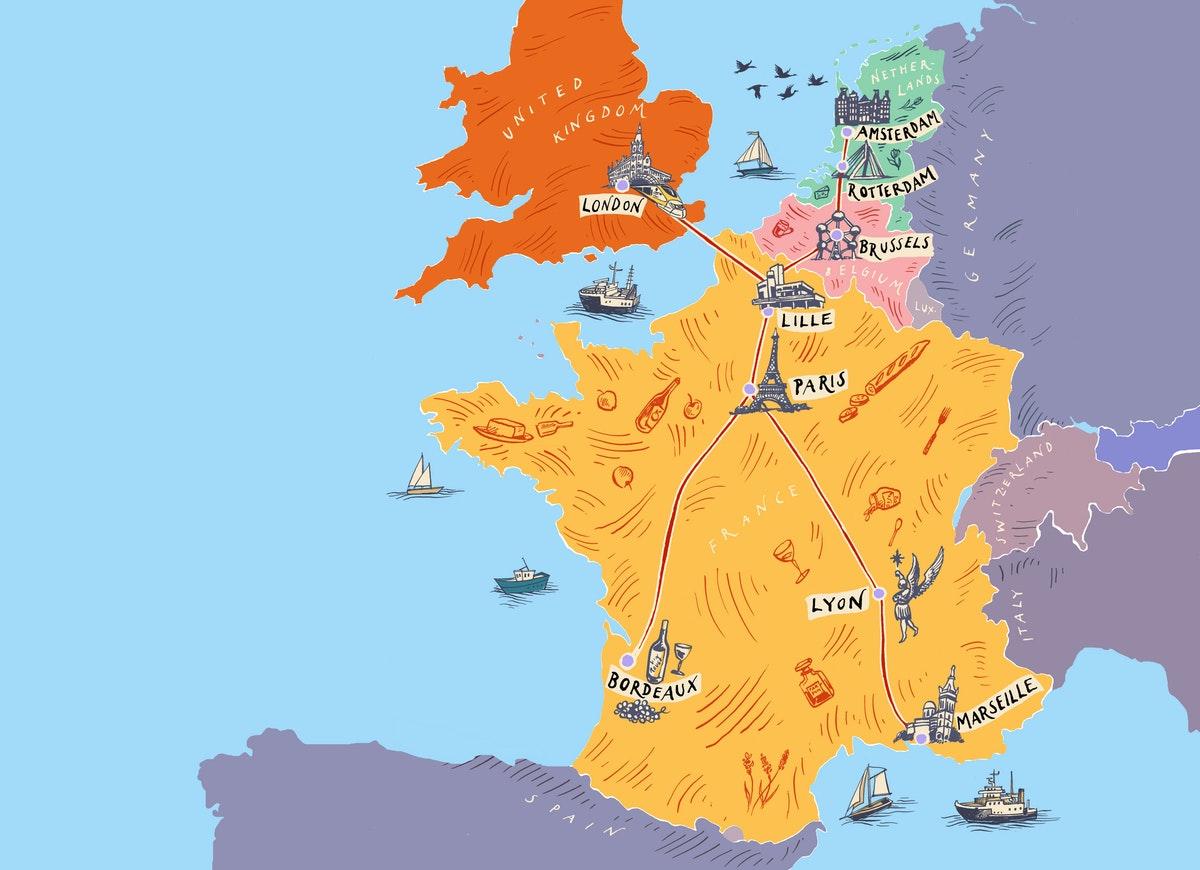 8 Eurostar destinations for events