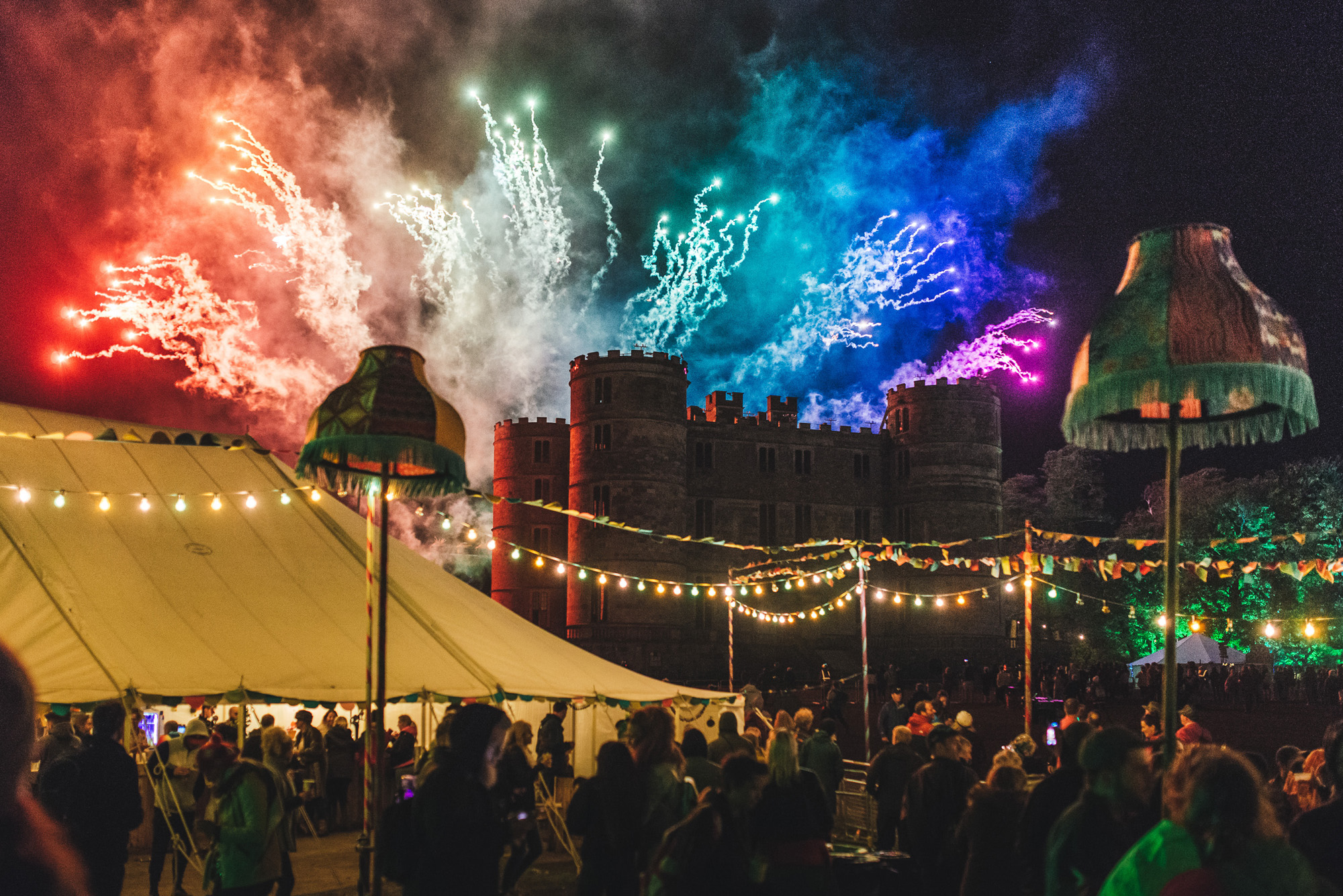 SquareMeal Event review Bestival 7 to 10 September 2017 hospitality tent lulworth castle