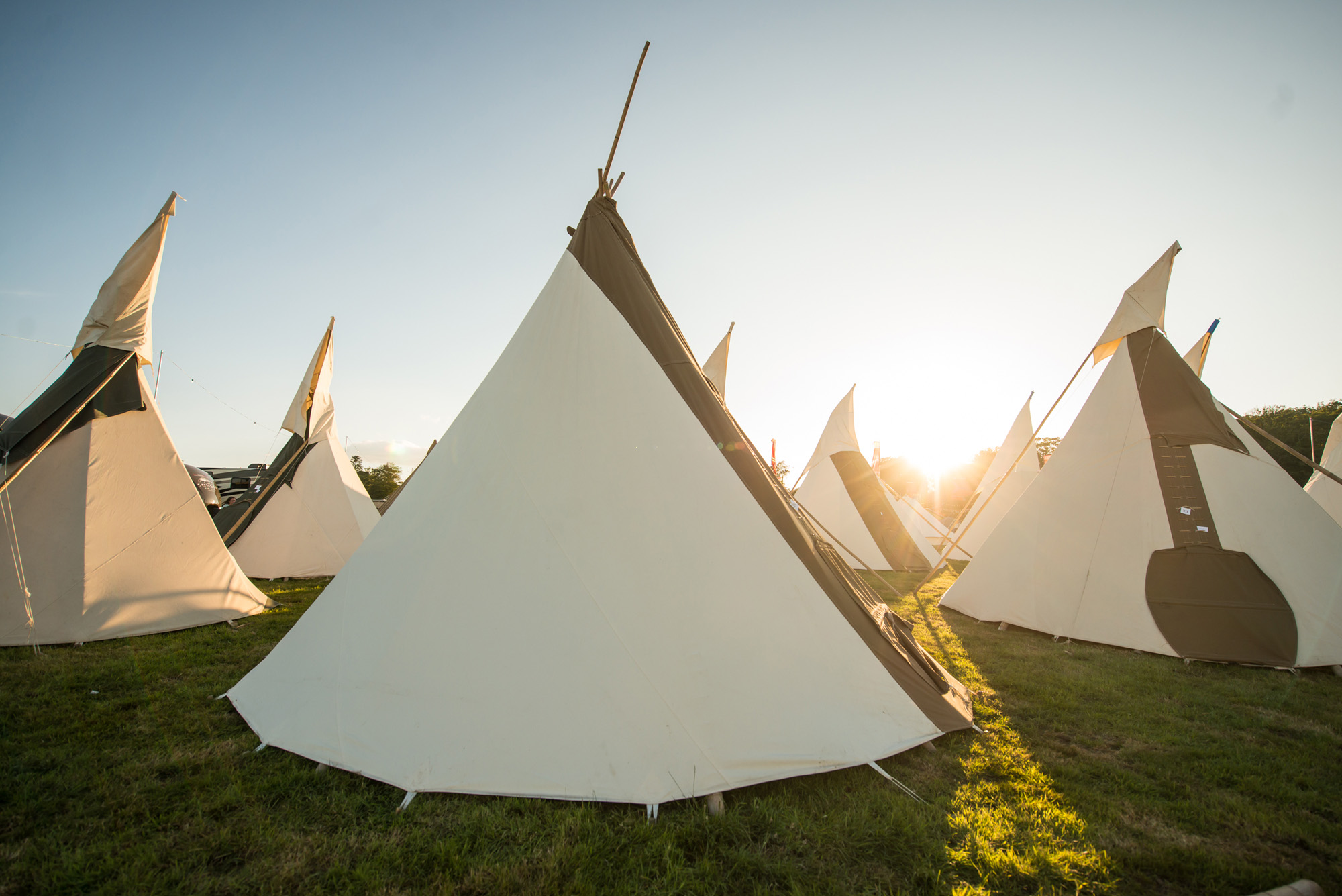 SquareMeal Event review Bestival 7 to 10 September 2017 festival hospitality the pitch village tents