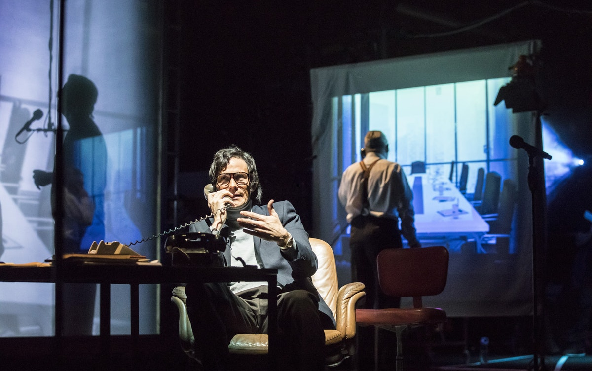 Theatre review: The Kid Stays in the Picture, Royal Court