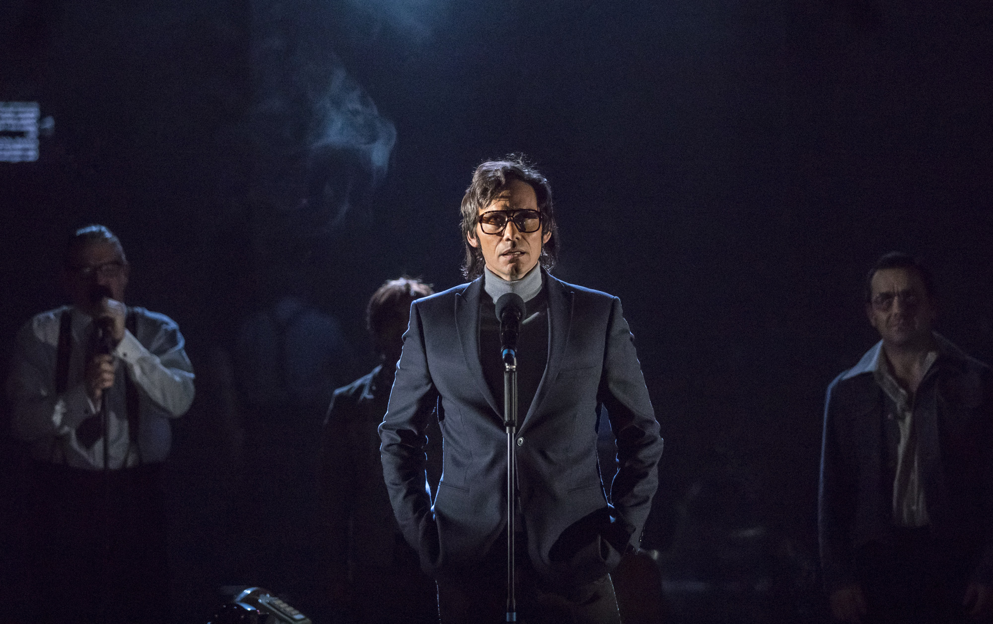 Theatre review The Kid Stays in the Picture Royal Court - credit Johan Persson