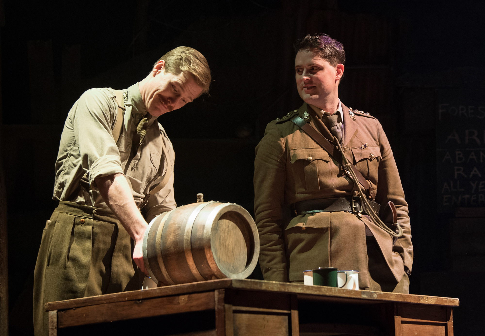 Theatre review The Wipers Times Arts Theatre - credit Alastair Muir