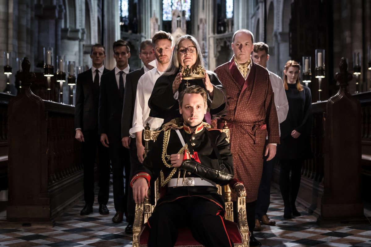 Theatre review: Richard III, Temple Church