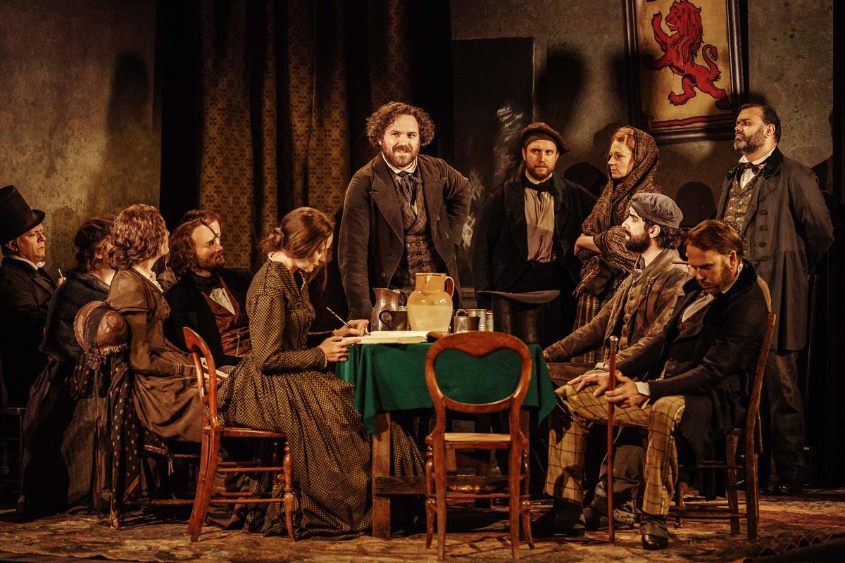 Theatre review: Young Marx, Bridge Theatre