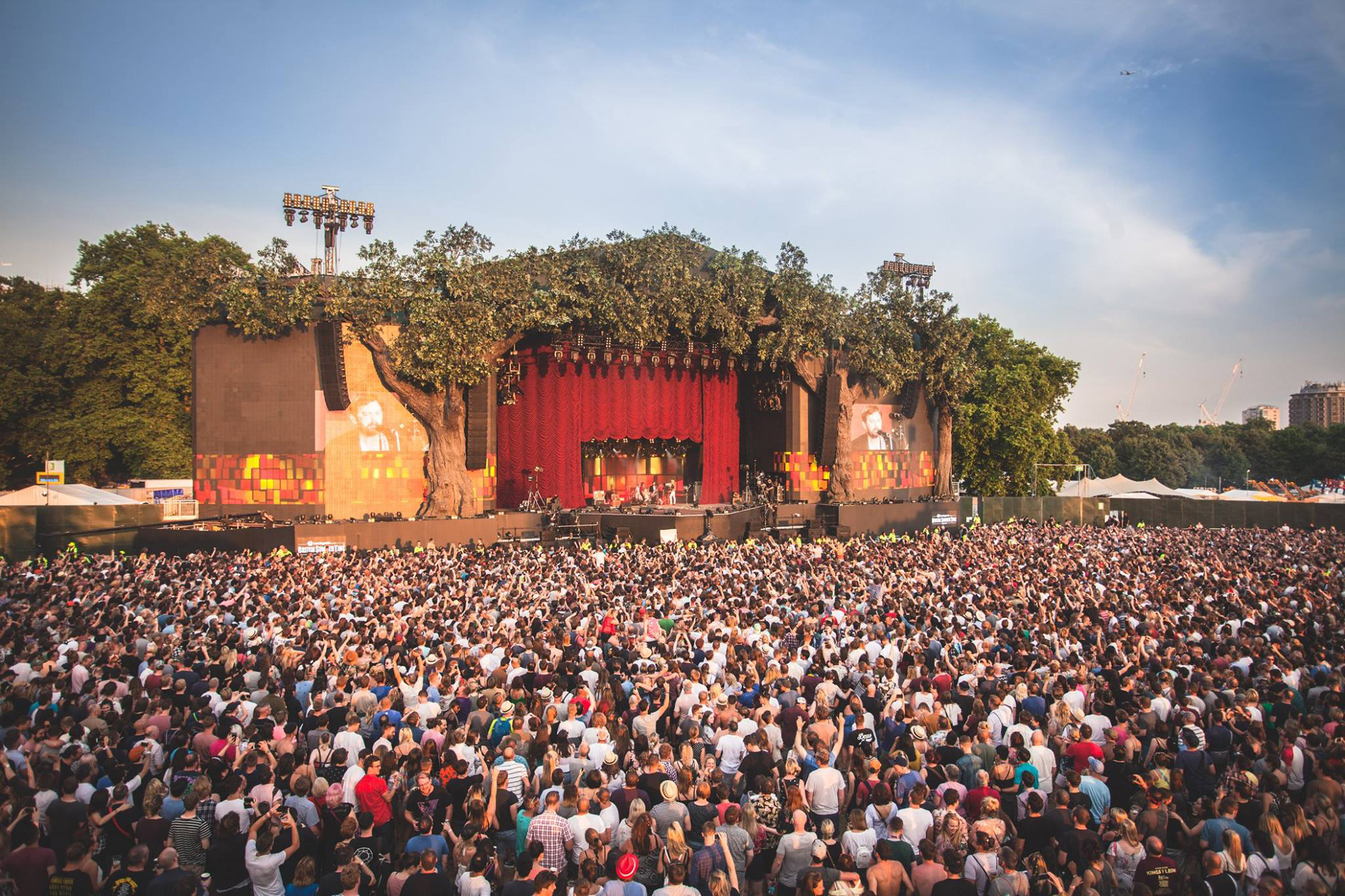 British Summer Time music festivals hyde park london