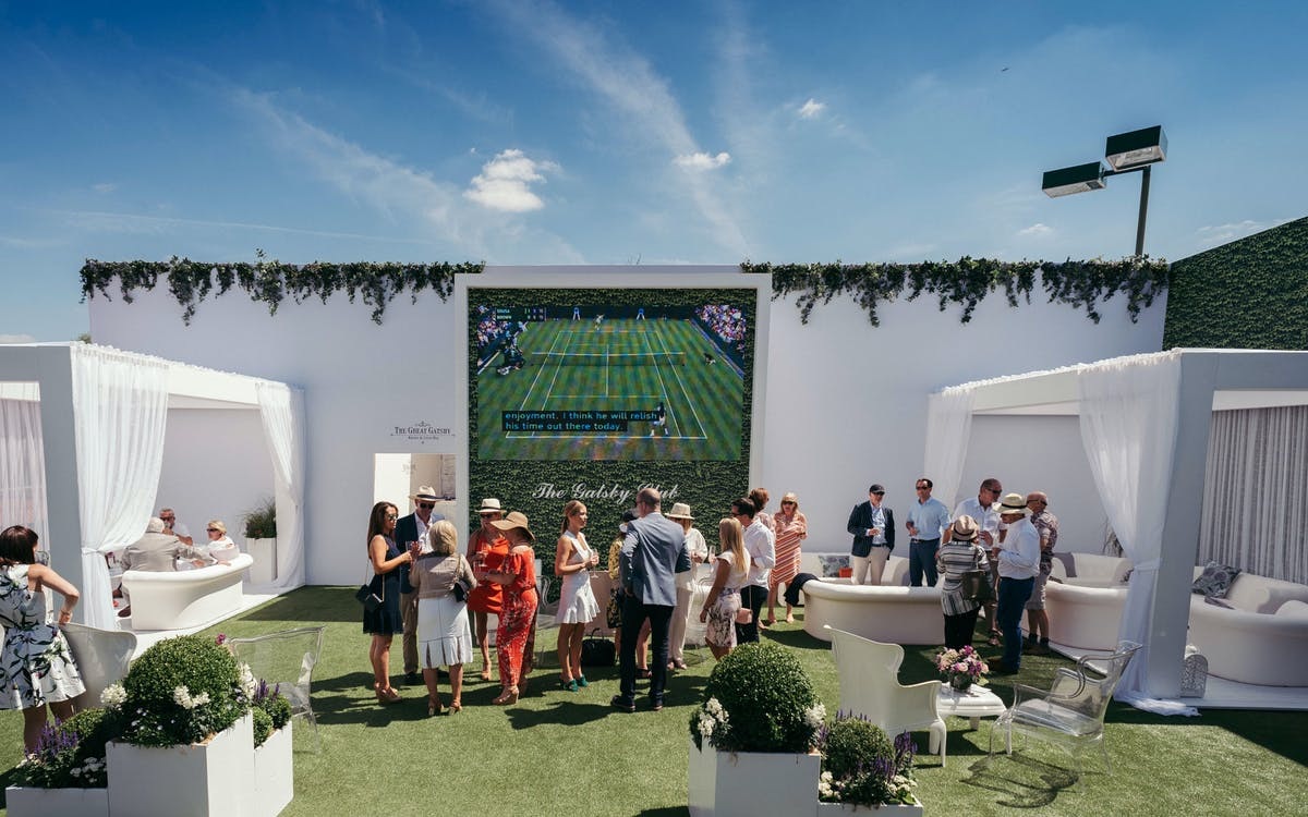 The best VIP hospitality at this year's Wimbledon