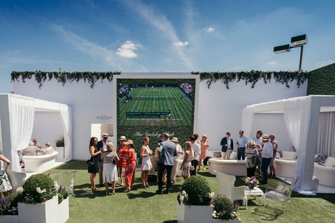 Start planning your hospitality for next year's Wimbledon