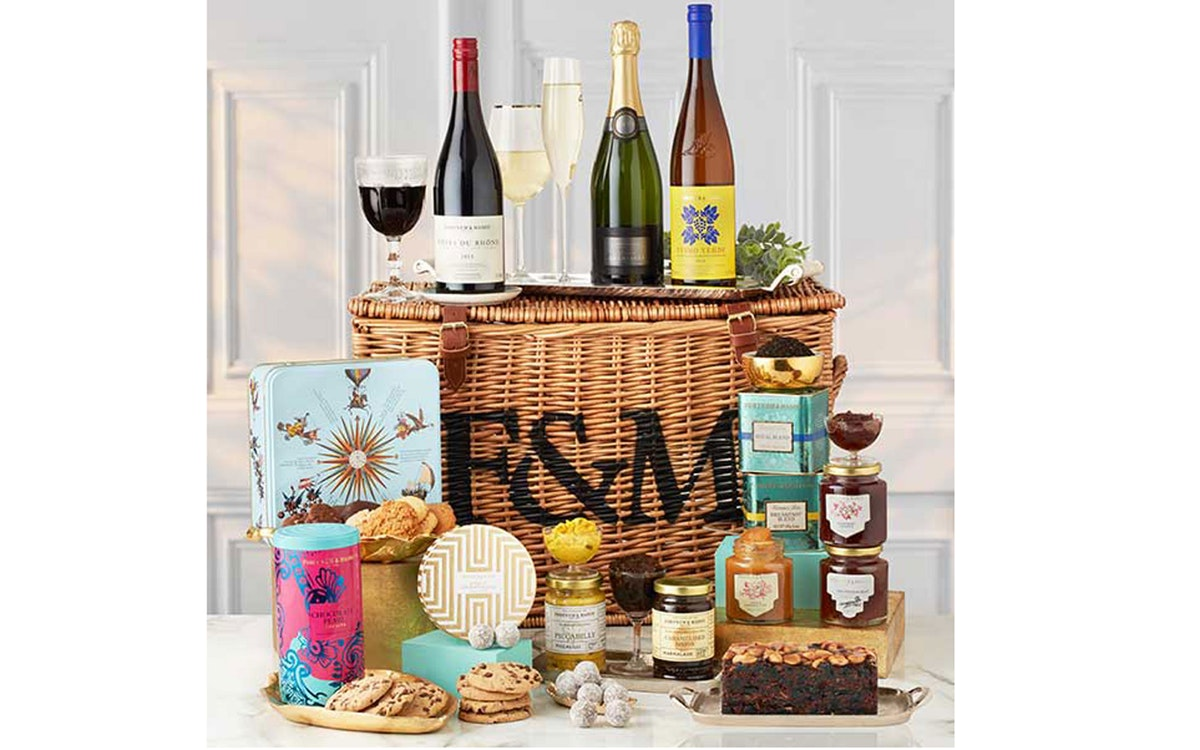 Corporate gift review: The Fortnum's Hamper from Fortnum & Mason