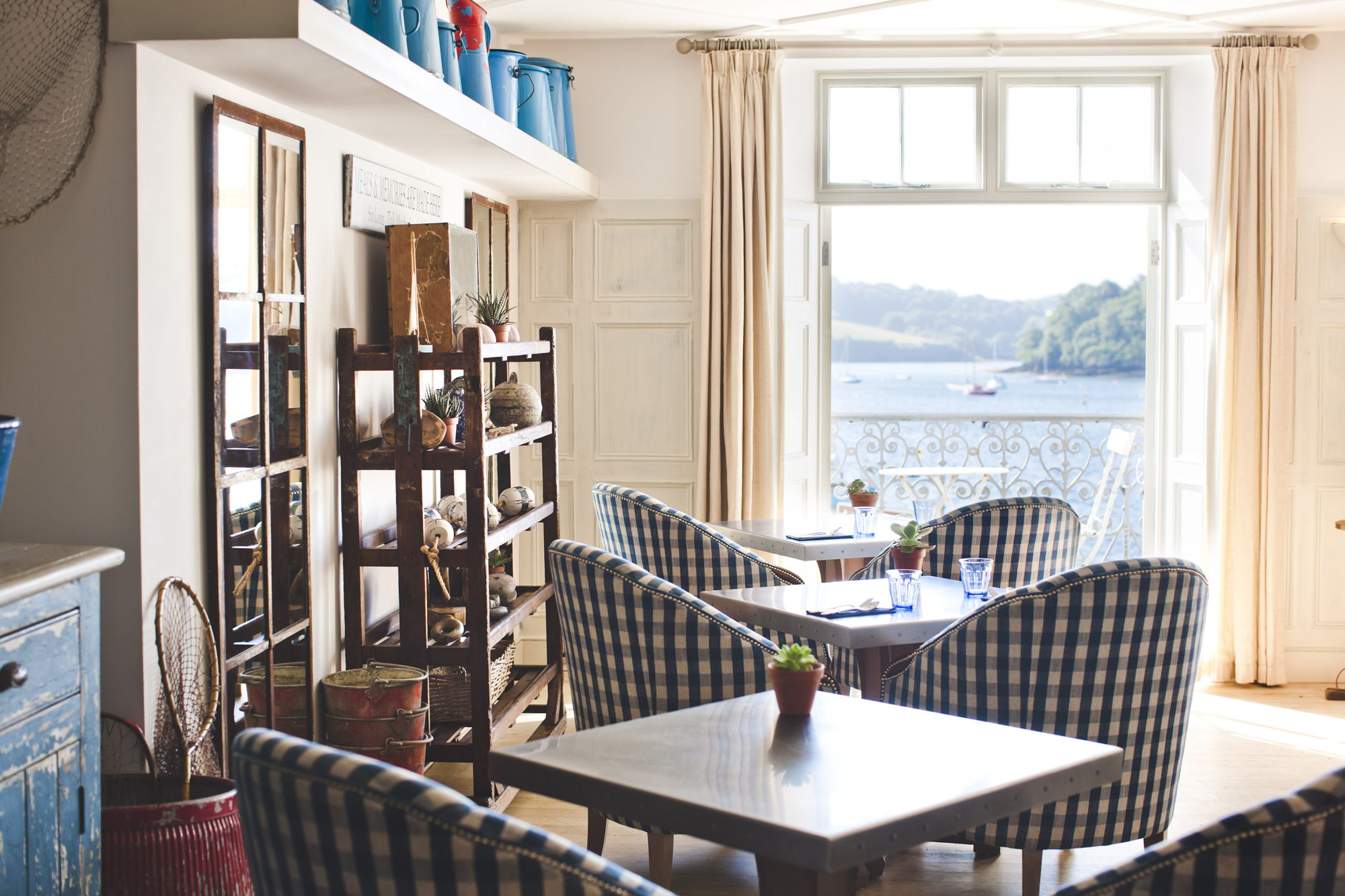 St Mawes Hotel cornwall southwest uk venues events hotels dining upper deck room with a view