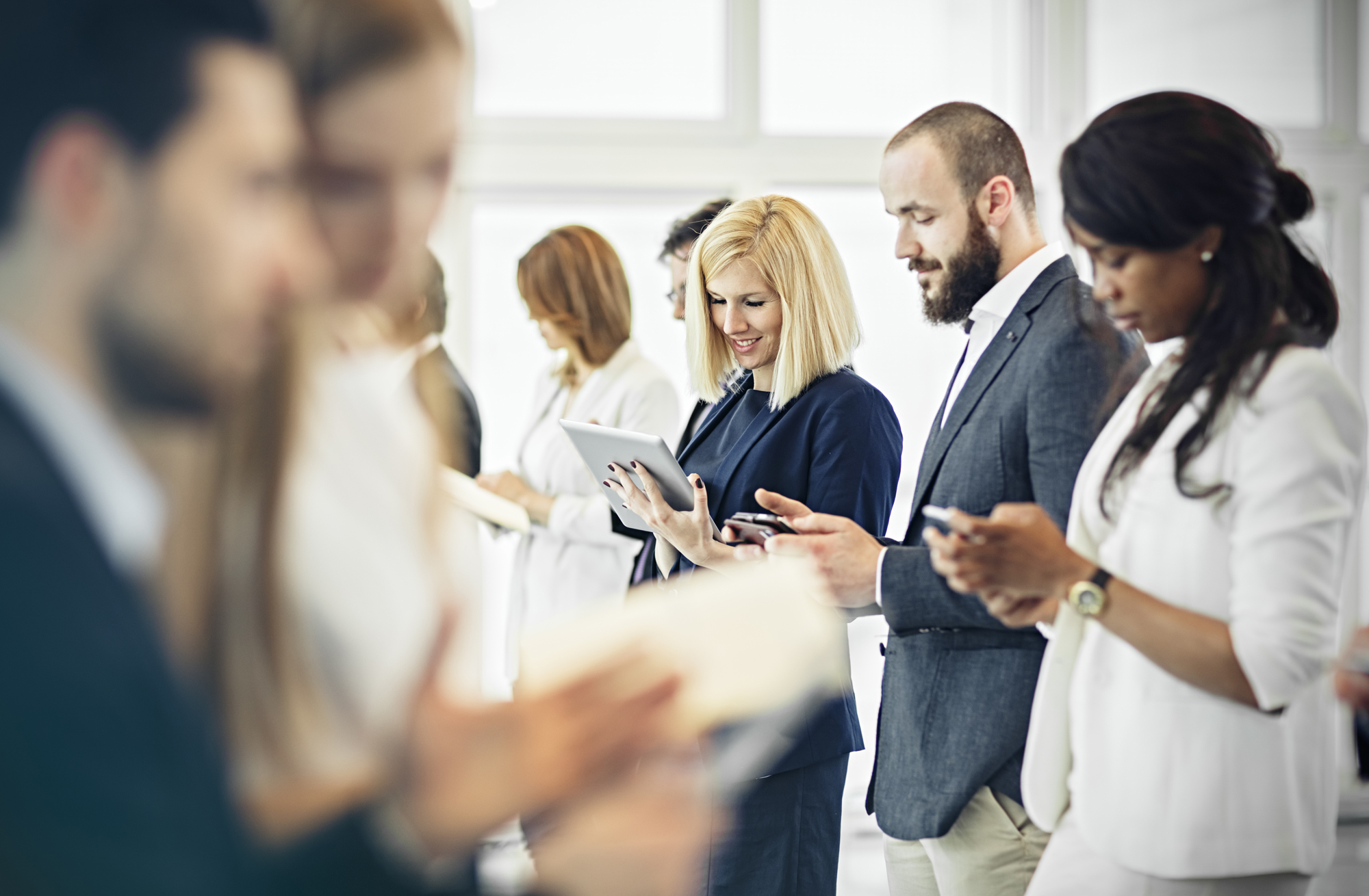 How to use technology effectively at your event - smartphones