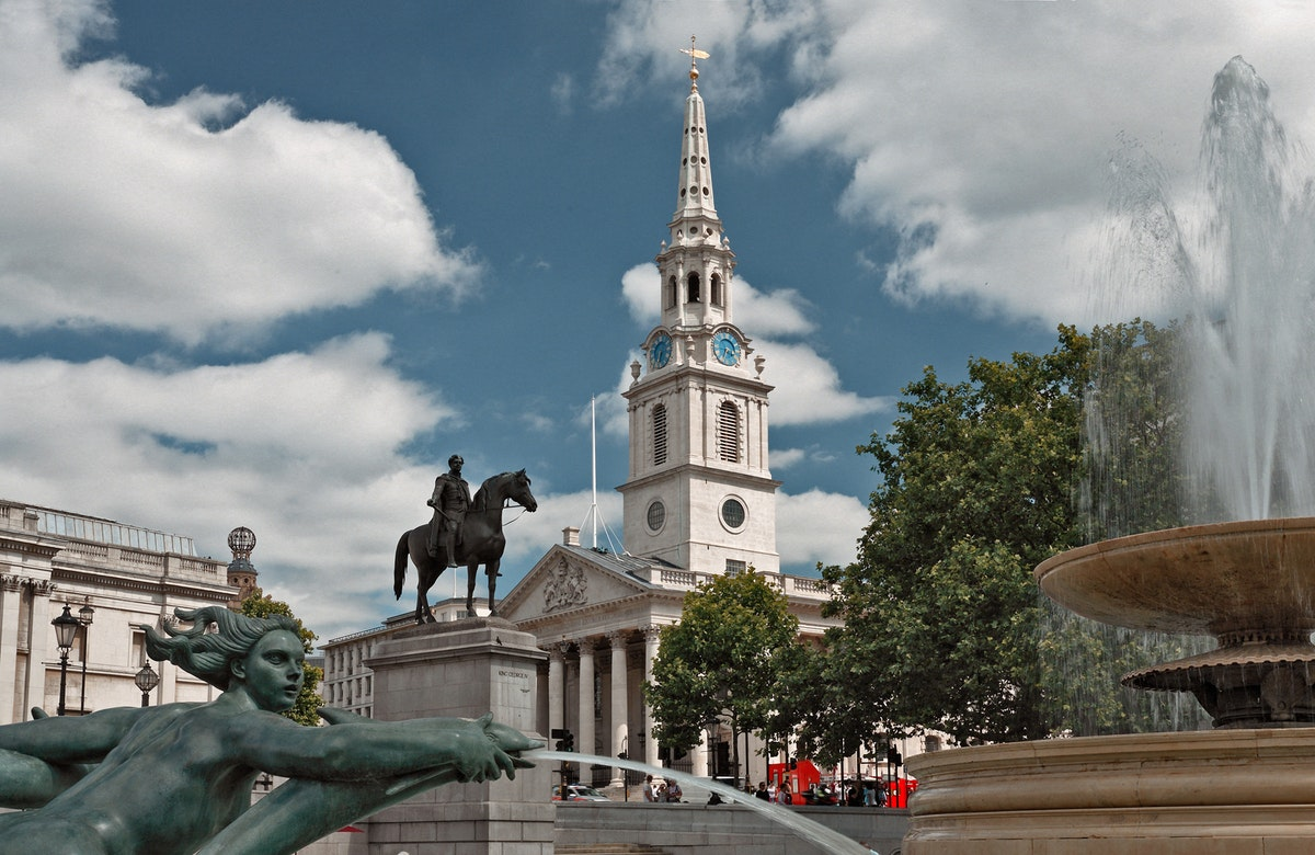New outdoor events space at St Martin-in-the-Fields