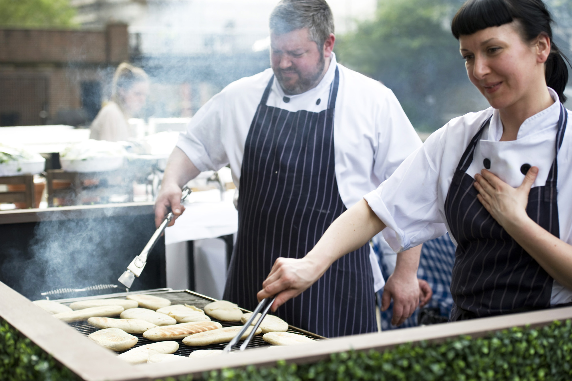 Sea Containers Events summer parties bbq outdoor event space rooftop