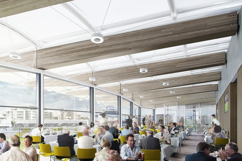 Lord's Cricket Ground unveils £25.6m stand + event space