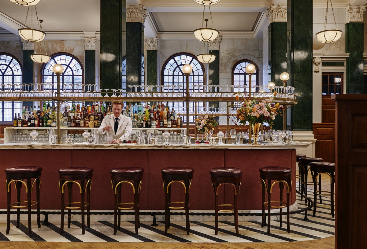 Now open: The Ned shakes up the Square Mile
