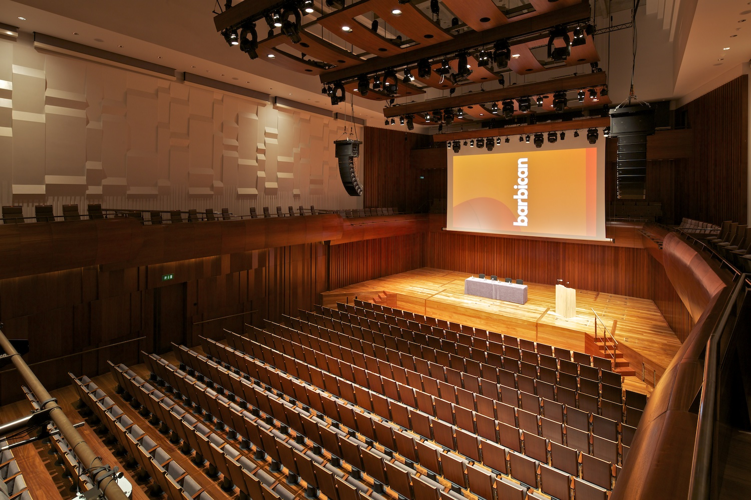 Barbican Conference Centre - venue hire