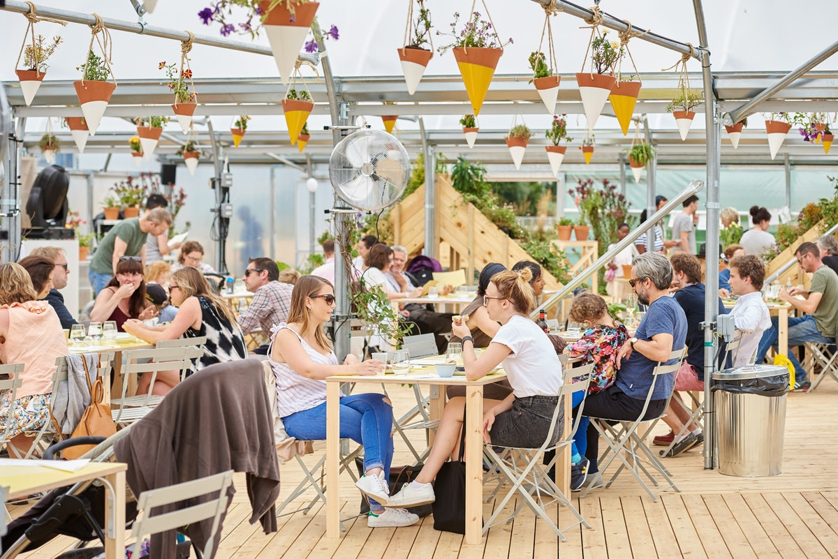Outdoor events space The Jetty is now open in Greenwich