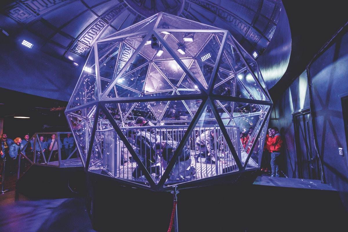 Black Friday offer for groups at The Crystal Maze