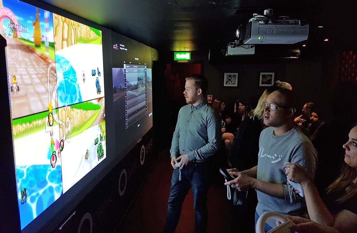 Games Room arrives in Soho at Inamo