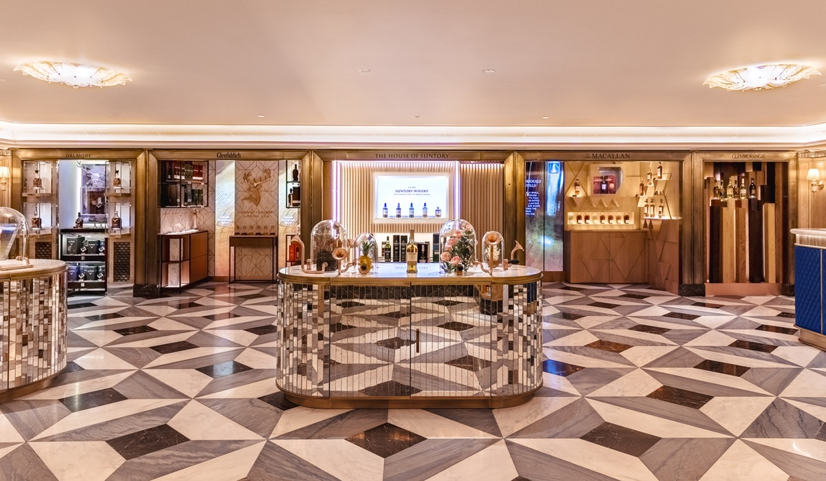 Harrods' new wine and spirit rooms have arrived