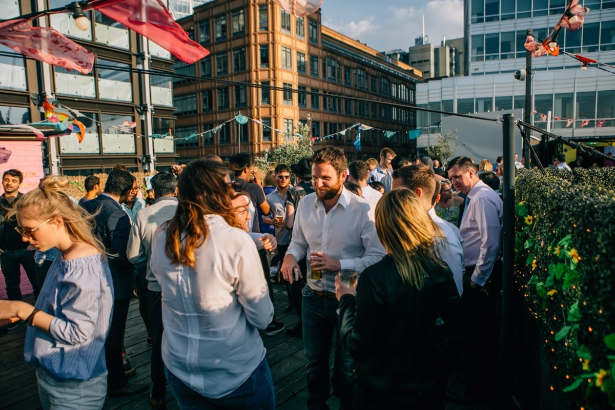 The Queen of Hoxton's summer rooftop is back