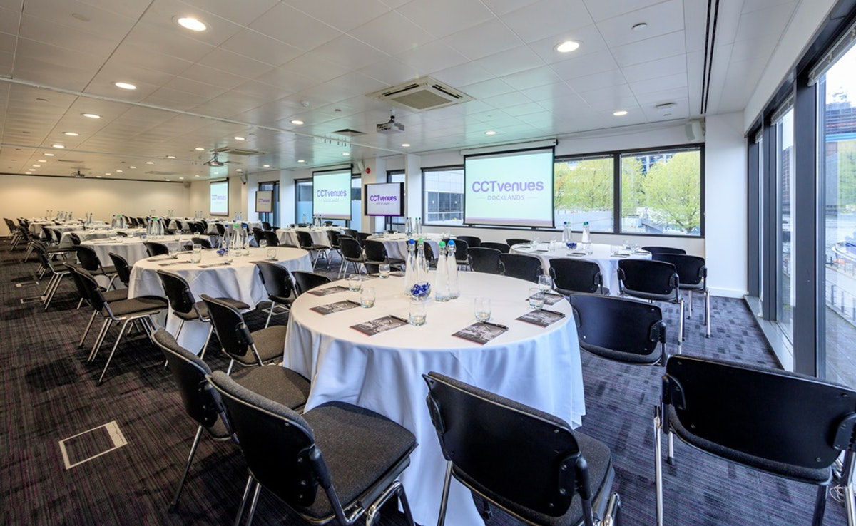 Big new event space for Docklands