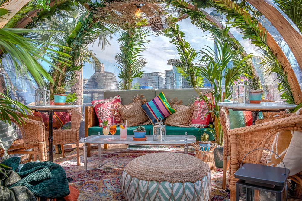 Is this Bohemian pop-up actual paradise?