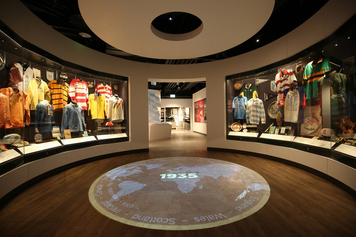 Twickenham's new museum looks spot on for incentives and break outs