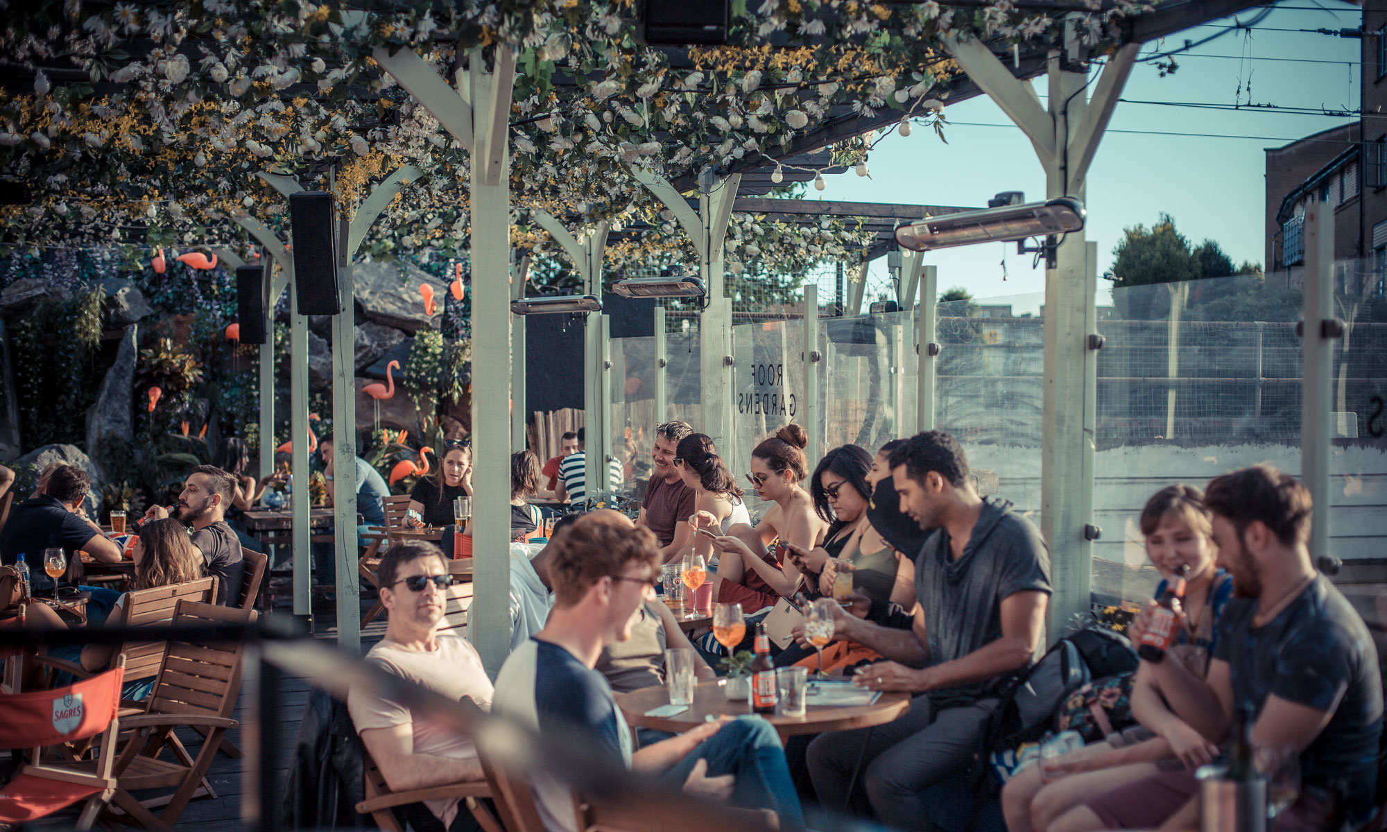 Fest Camden event space private dining cabaret pizza live music rooftop party corporate