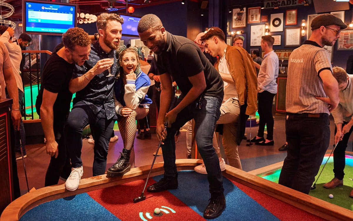 What's the latest mini golf experience to hit the city?