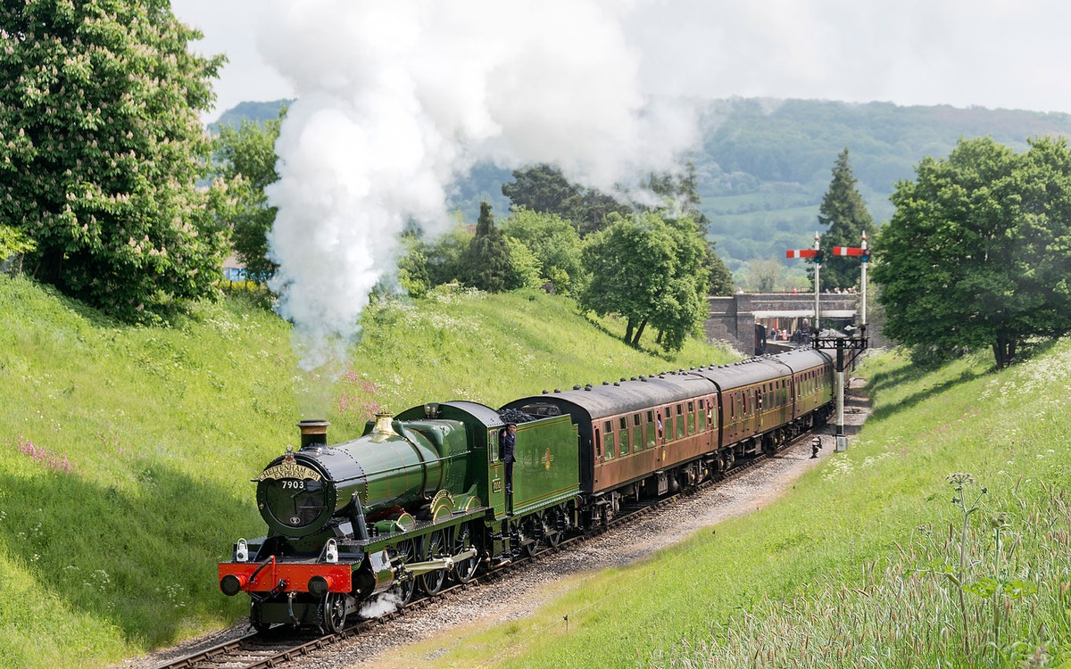 It's full steam ahead with these new corporate packages at Tewkesbury Park