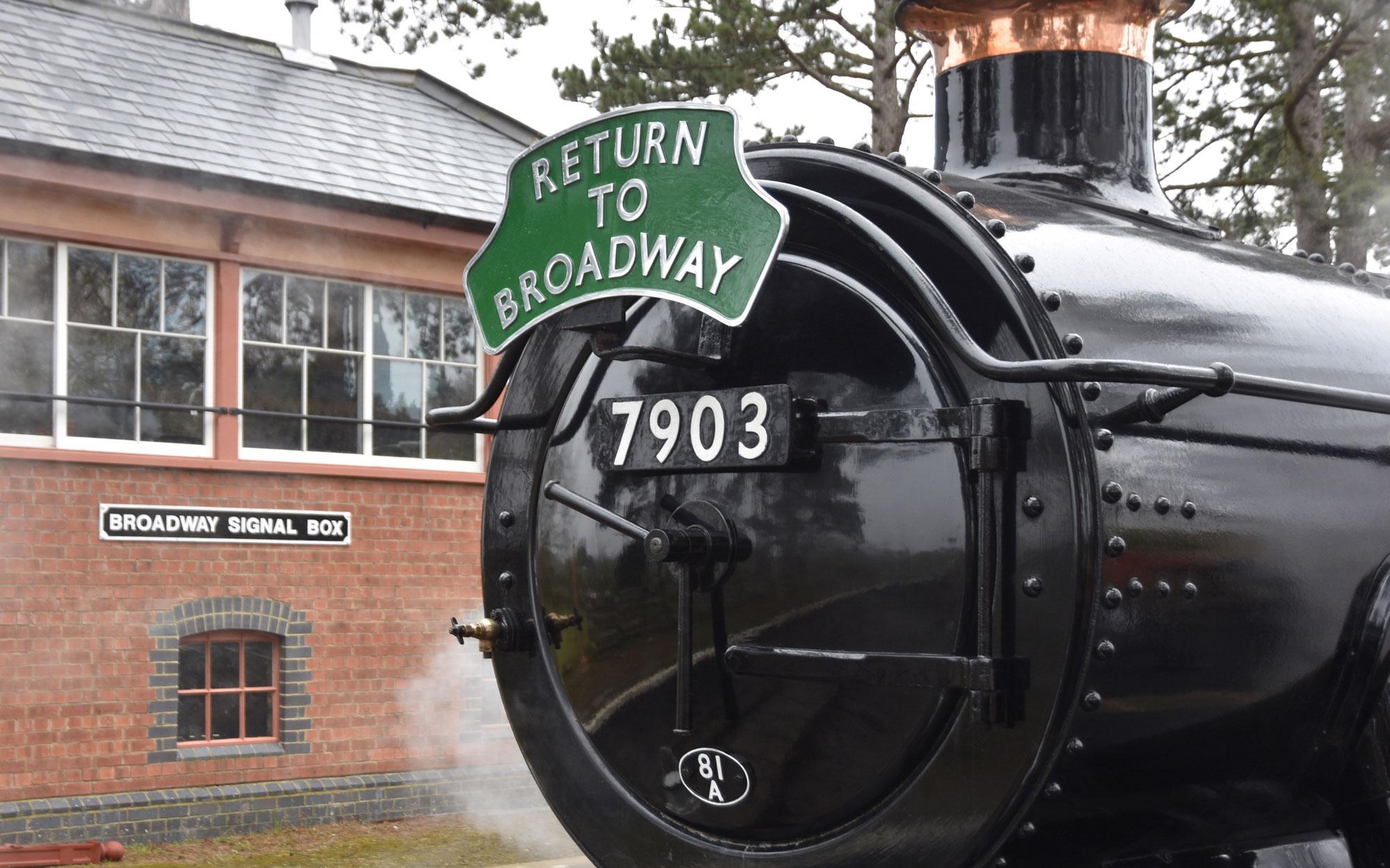 Tewkesbury Park Steam Train