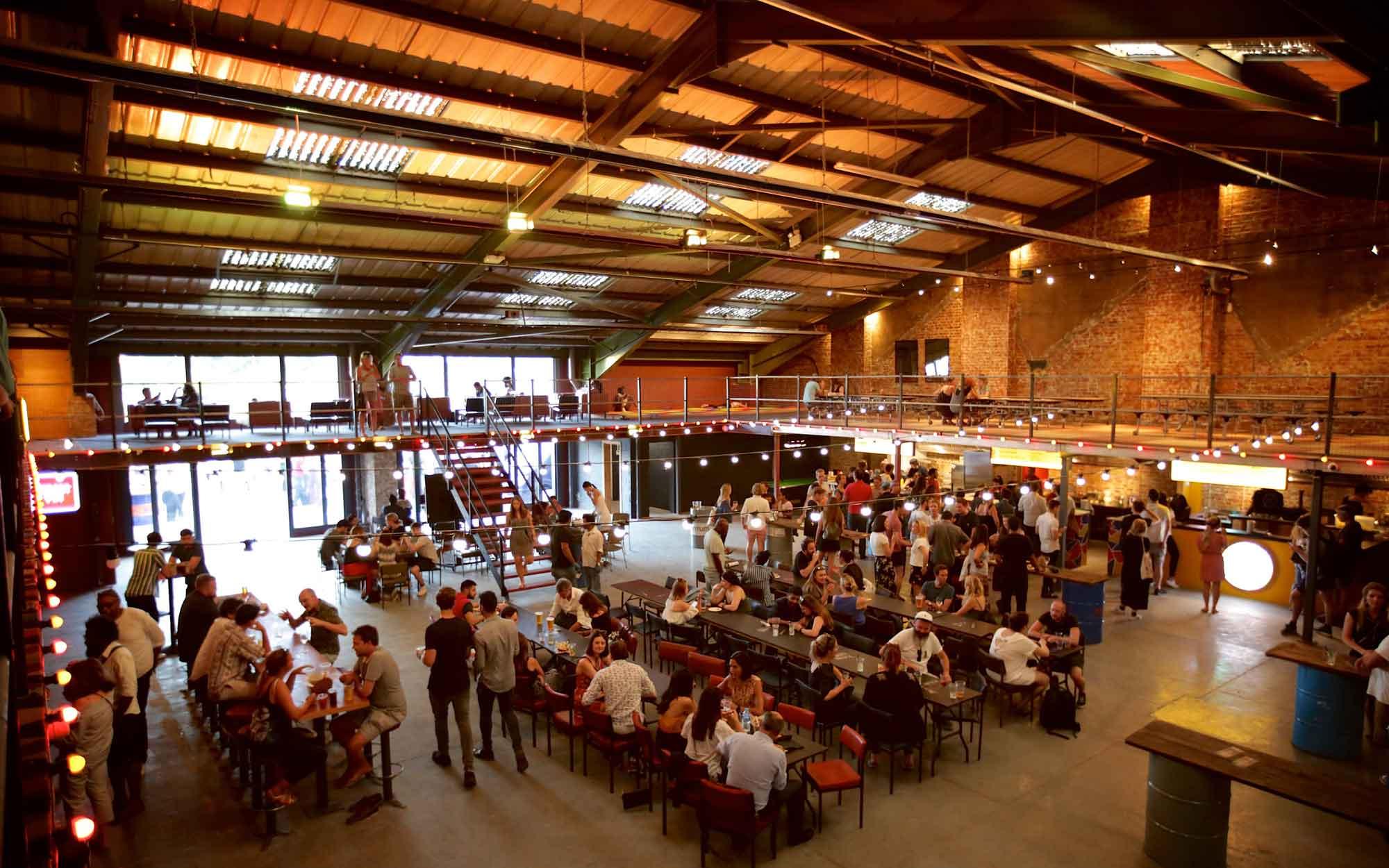 Hawker Union Street Feast venue