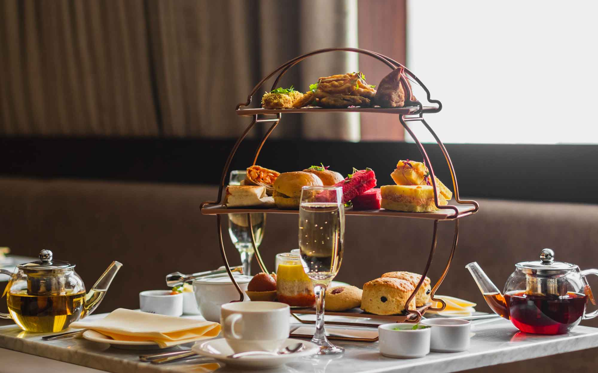 The Chilworth Hotel Indian afternoon tea