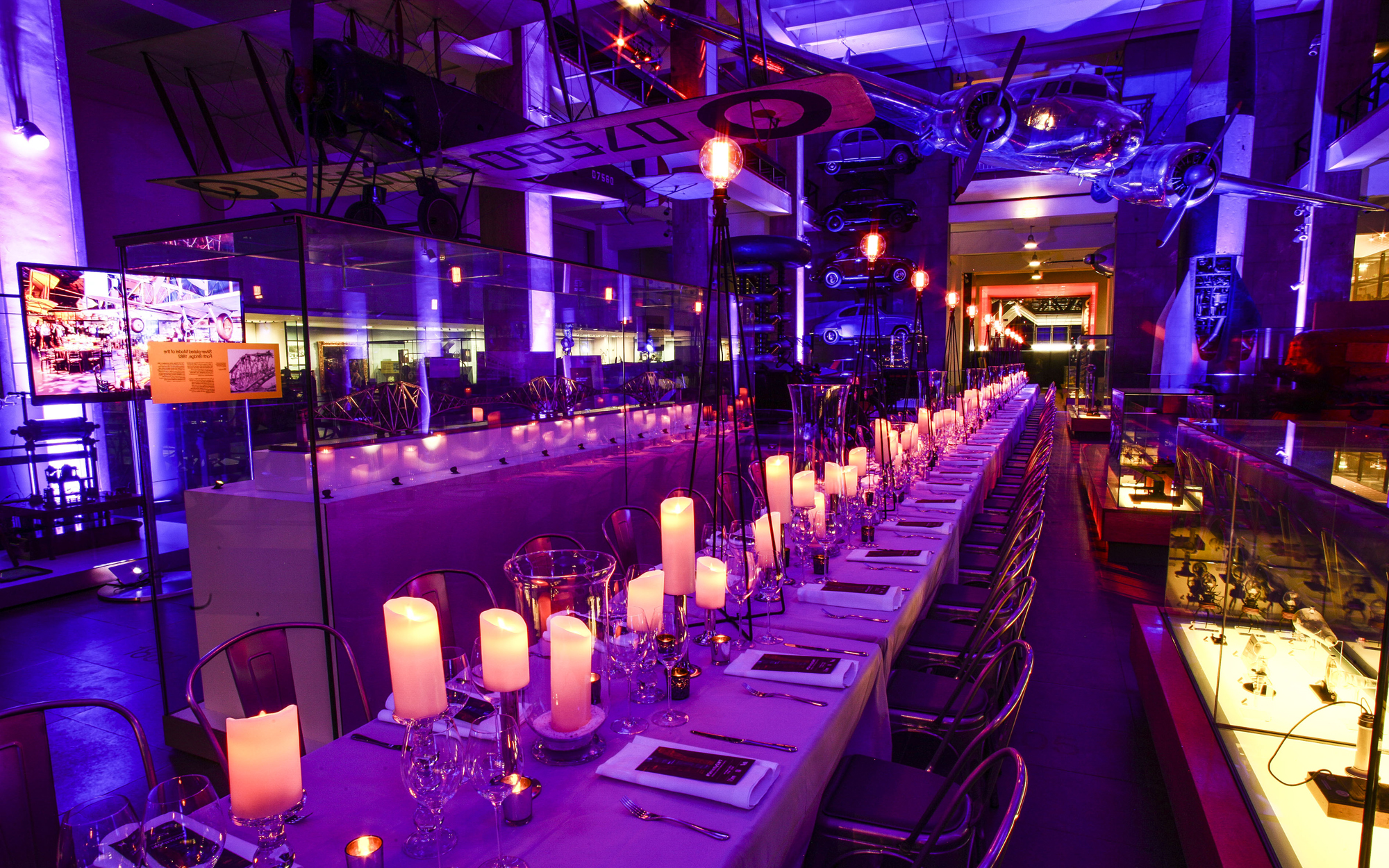 Corporate party venues in Manchester museum of science