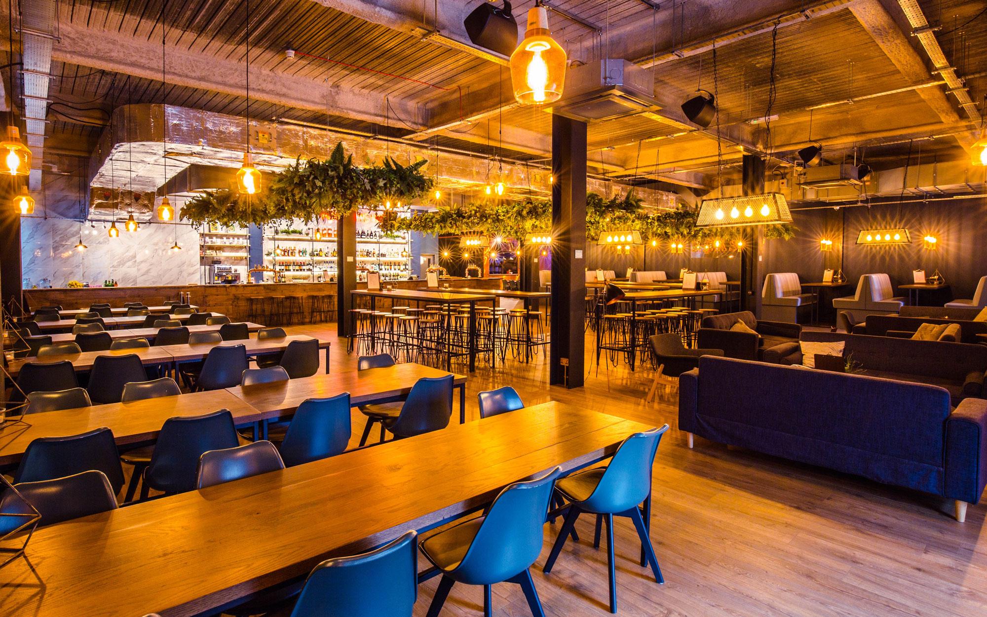 studio kitchen event space restaurant bar