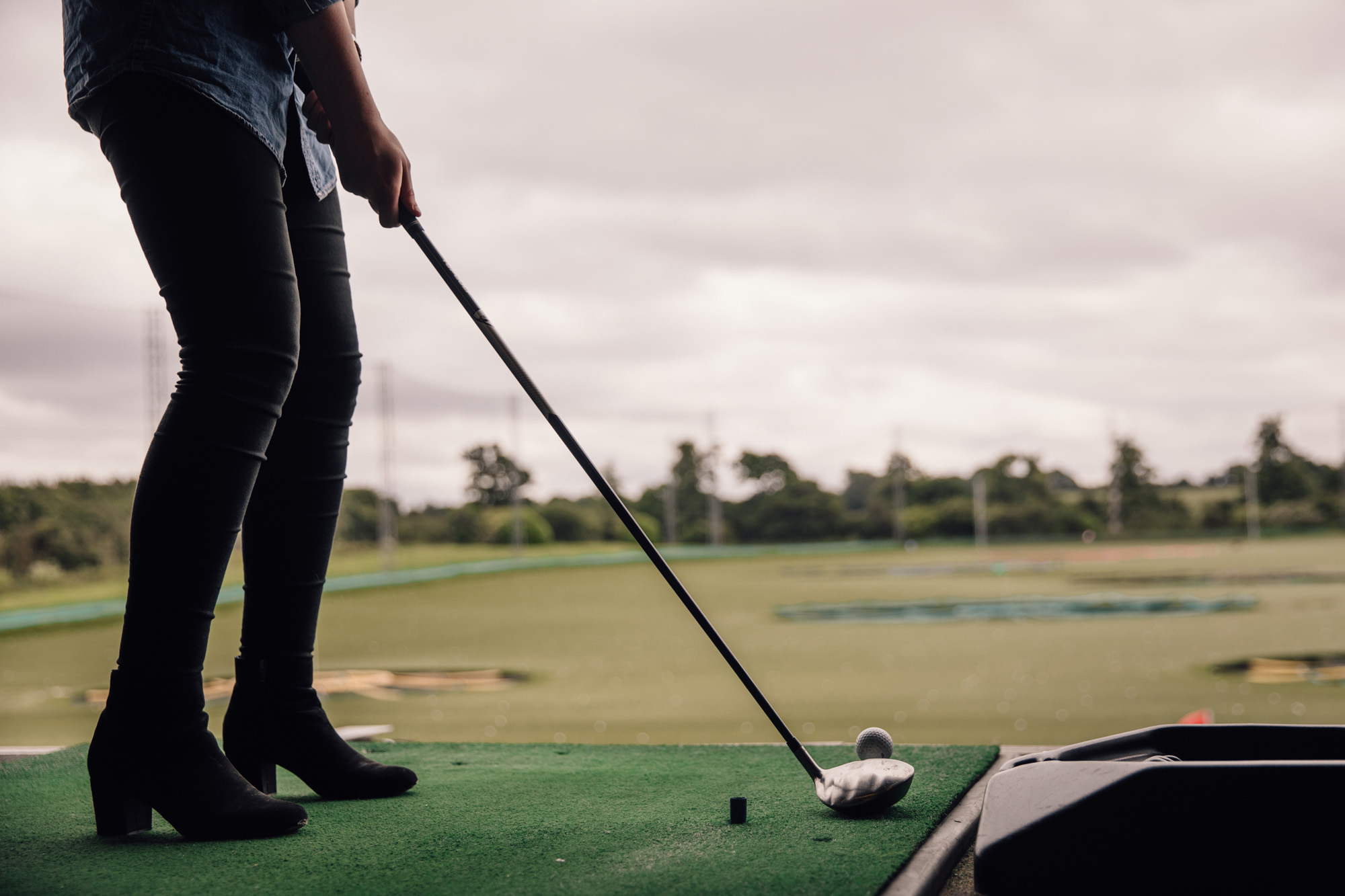 Topgolf Chigwell venue hire 1 hour from London