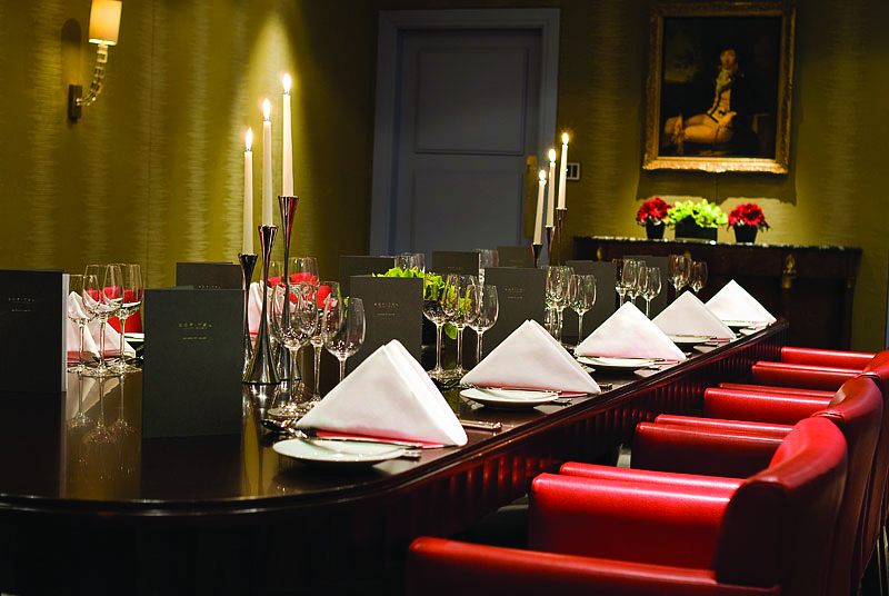 Sofitel St James london hotels private dining